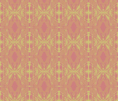 Municipal Diamonds-Sorbet fabric by mbsmith on Spoonflower - custom fabric