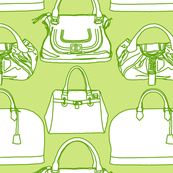 Handbags Green