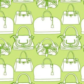 Handbags Green