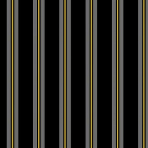 """Gray Stripe With Yellow"""