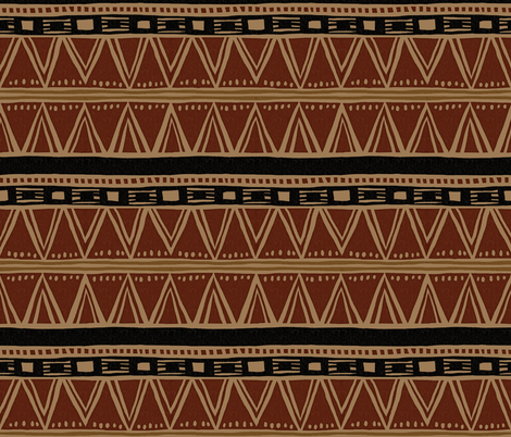 African Soil fabric by konoko on Spoonflower - custom fabric