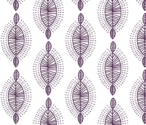 African inspired fabric by molipop on Spoonflower - custom fabric