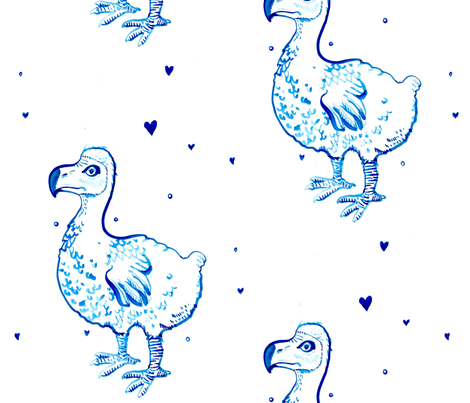 Dodo fabric by susannah_elizabeth on Spoonflower - custom fabric