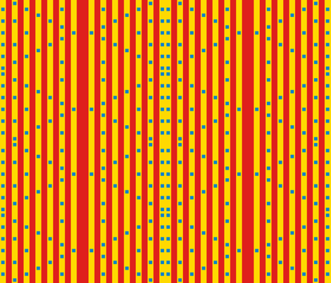 Dizzying Stripes and Squares (vertical)