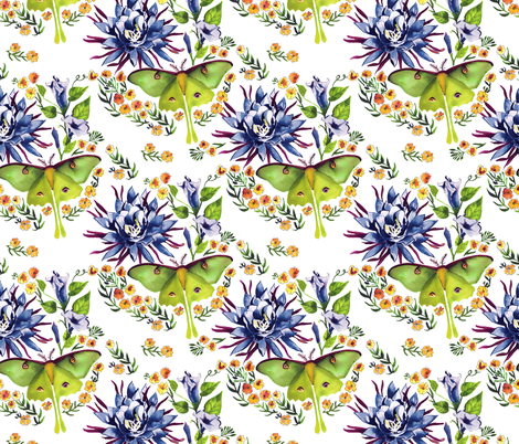 Evening fabric by marlene_pixley on Spoonflower - custom fabric