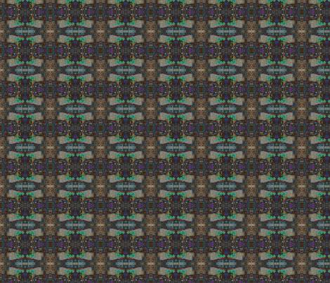 Prairie Dog Geometric Multi fabric by ravynscache on Spoonflower - custom fabric