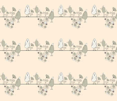 Waiting for Venus fabric by linsen on Spoonflower - custom fabric