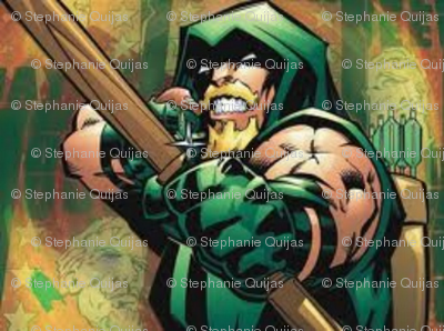 greenarrow fabric