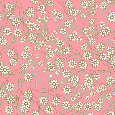 Meadow Floral Sprays in pink