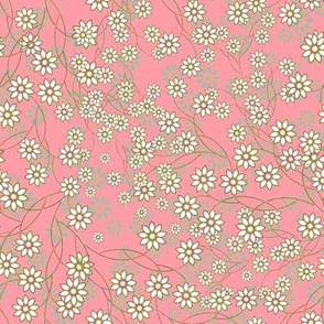 Meadow Floral Sprays in pink