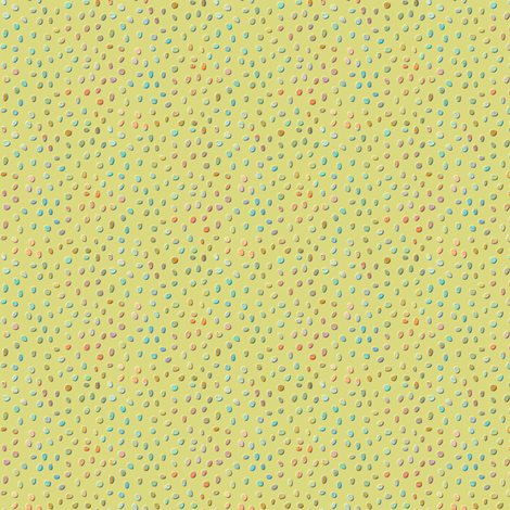 sketch_texture_dots_celery fabric by glimmericks on Spoonflower - custom fabric