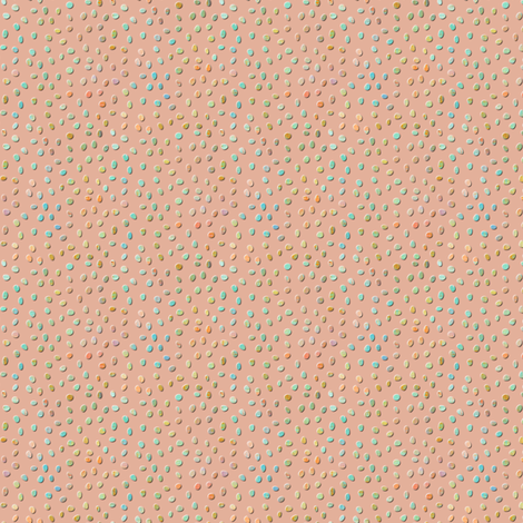 sketch_texture_dots_flesh fabric by glimmericks on Spoonflower - custom fabric