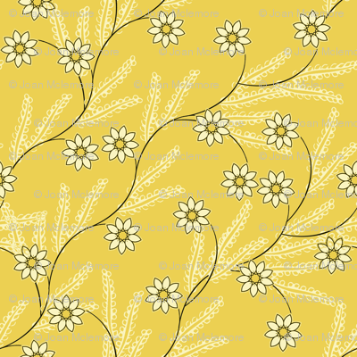 Meadow Vine in yellow