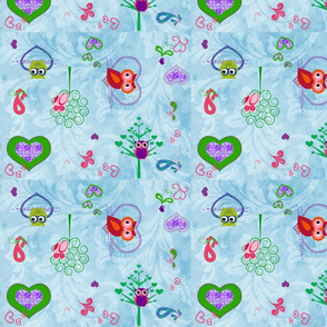 owl_family_fabric