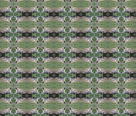 Who Woke the Hyena? fabric by ravynscache on Spoonflower - custom fabric