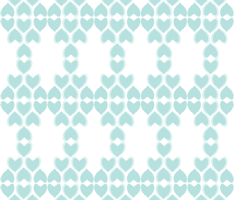Hearts Entwined fabric by kerryn_metcalfe on Spoonflower - custom fabric