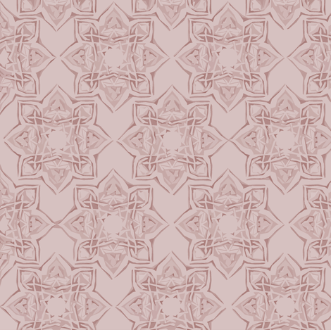 Kayseri in Dusty Rose fabric by delsie on Spoonflower - custom fabric