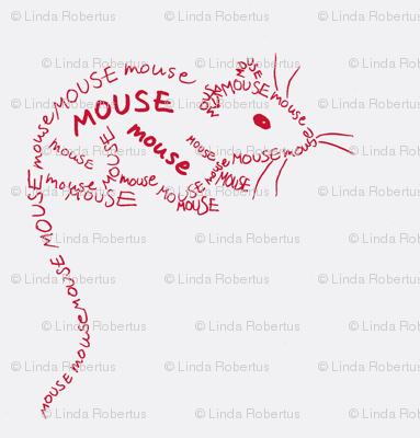 Mouse Calligram