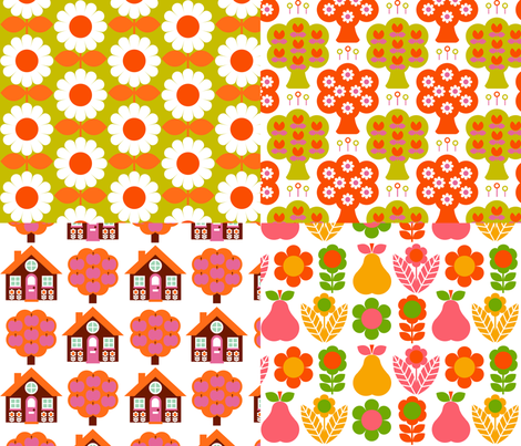 cushion_panels_for_Emily__oranges_ fabric by aliceapple on Spoonflower - custom fabric