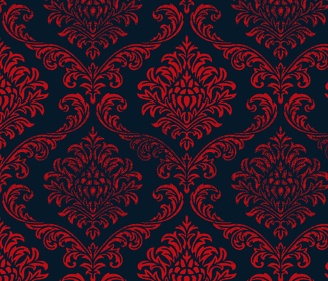 Timeless brocade/ roma fabric by paragonstudios on Spoonflower - custom fabric