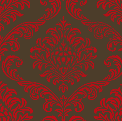 Timeless brocade/ Rouge fabric by paragonstudios on Spoonflower - custom fabric