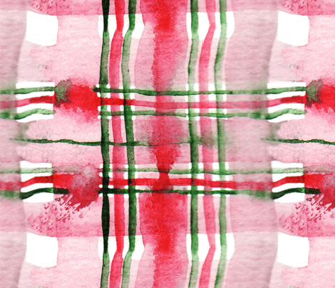 antoinette tartan L fabric by nadja_petremand on Spoonflower - custom fabric