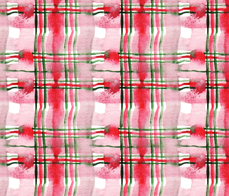 antoinette tartan M fabric by nadja_petremand on Spoonflower - custom fabric