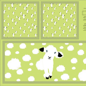 Baby Lamb Pillow Slip
