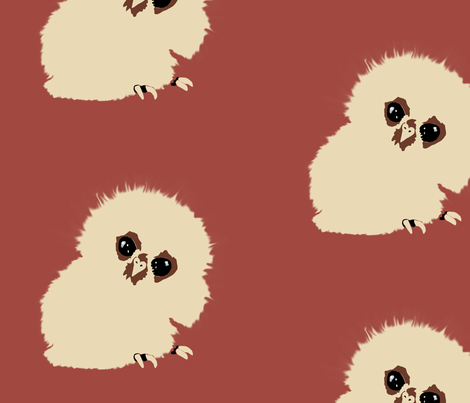 Owlet Babies fabric by animotaxis on Spoonflower - custom fabric