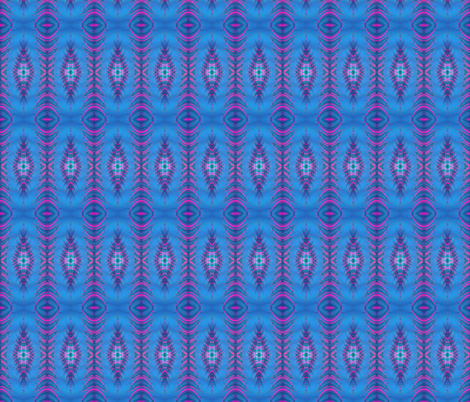 hotpink-blue fabric by krs_expressions on Spoonflower - custom fabric