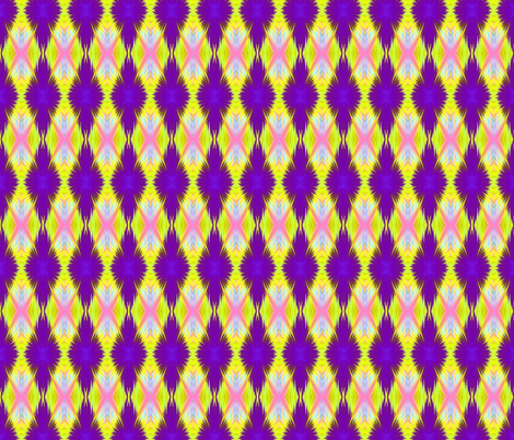 purple-yellow fabric by krs_expressions on Spoonflower - custom fabric