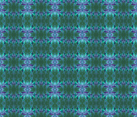 turquoise and purple fabric by krs_expressions on Spoonflower - custom fabric