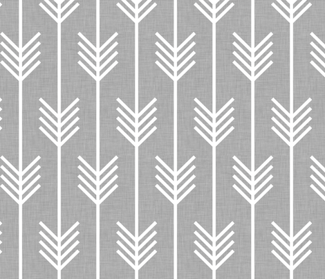 arrows_light_grey fabric by holli_zollinger on Spoonflower - custom fabric