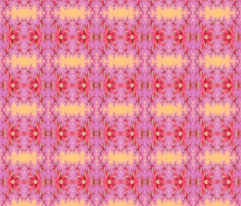 peach and pink fabric by krs_expressions on Spoonflower - custom fabric
