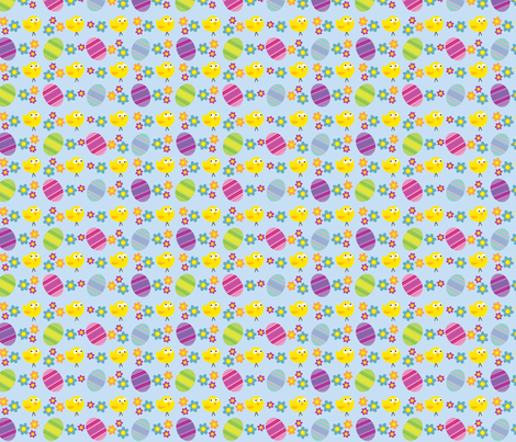 Chick or the Egg fabric by edward_elementary on Spoonflower - custom fabric