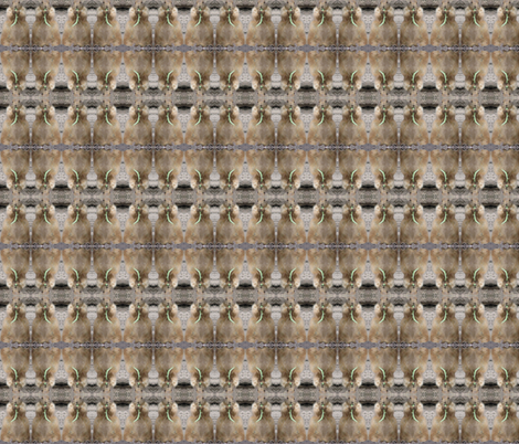 Prairie Dog with Bean fabric by ravynscache on Spoonflower - custom fabric