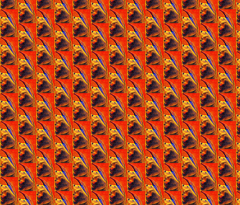 Neon Anteater fabric by ravynscache on Spoonflower - custom fabric