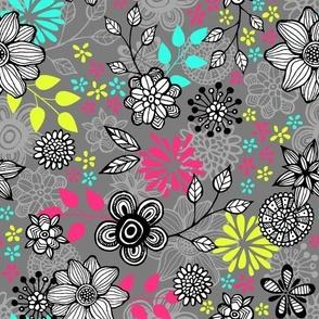 Pop Floral Multi