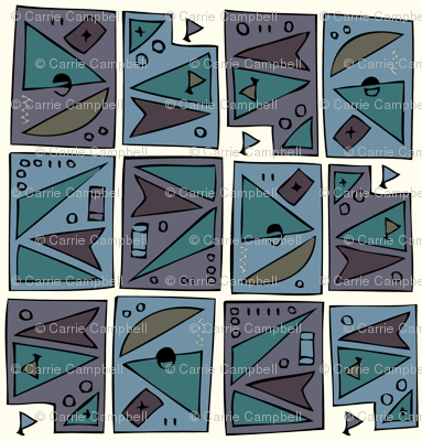 Tiki 2 (large motif)