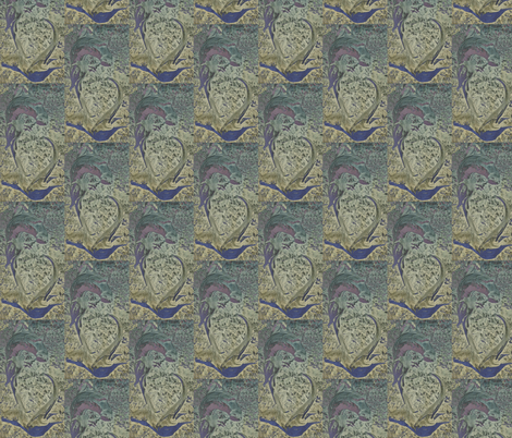 Otter Brocade fabric by ravynscache on Spoonflower - custom fabric