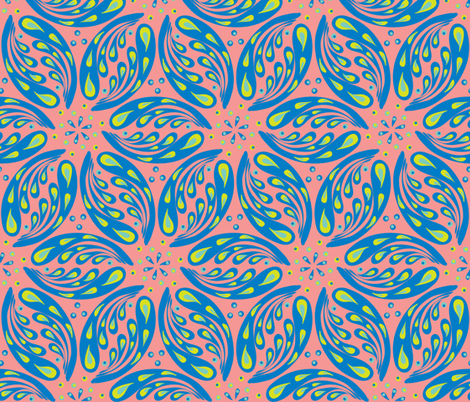 jugendstil-24 fabric by studiojelien on Spoonflower - custom fabric