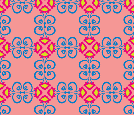 jugendstil-30 fabric by studiojelien on Spoonflower - custom fabric