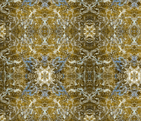 """Gwenhwyfar Gold"" fabric by jeanfogelberg on Spoonflower - custom fabric"