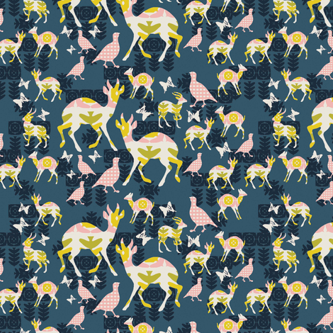 Camping fabric by kathyjuriss on Spoonflower - custom fabric