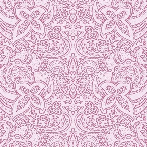 Paisley in Orchid Pink