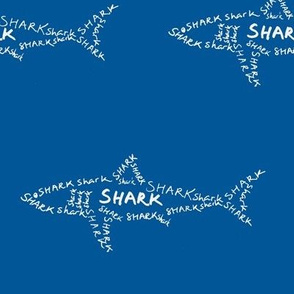 Shark Calligram