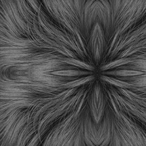 Gypsy (B&W) fabric by ravynscache on Spoonflower - custom fabric
