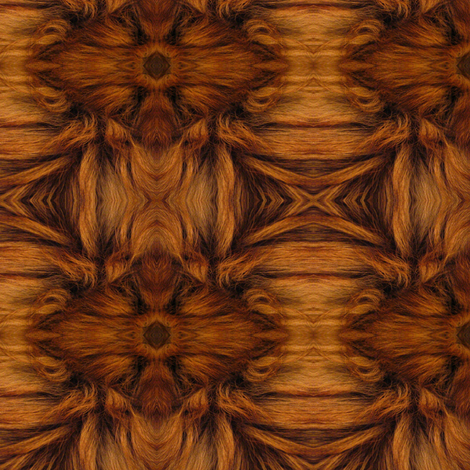 Gypsy Kaleidoscope (Natural) fabric by ravynscache on Spoonflower - custom fabric