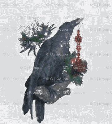 Christmas Raven