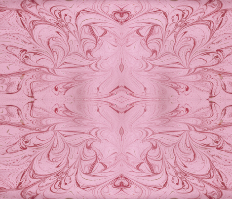Pink_Marble_valentine fabric by isa_creations on Spoonflower - custom fabric